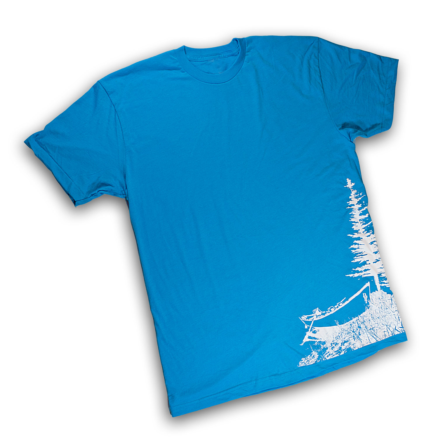 DRYFT Boat Tee Remix blue - front