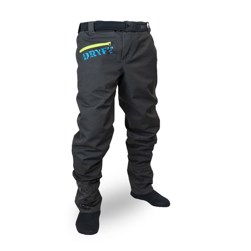 DRYFT Session wading pants front view